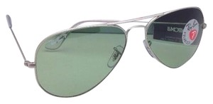 Ray-Ban Polarized Ray-Ban Sunglasses LARGE METAL RB 3025 019/O5 Matte Silver