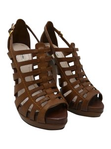 Miu Miu Heels Brown Sandals