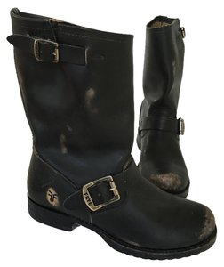 Frye Boot Veronica Boot Black Boots