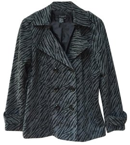 Sandro Black and gray Jacket