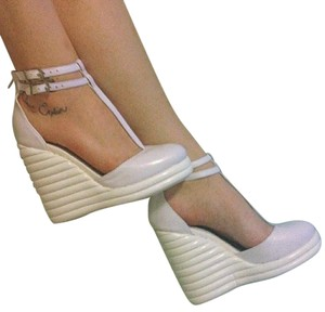 Jeffrey Campbell White Wedges