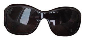 Gucci Gucci Maroon Acetate Frame Sunglasses with Gradient Lenses