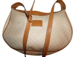 Gucci Great Everyday Excellent Vintage Xl Size Style Great Neutral Hobo Bag