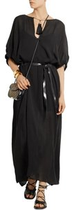 black Maxi Dress by Isabel Marant