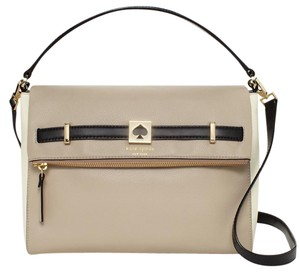 Kate Spade Houston Street Maria Convertible Leather Wkru3098 098689823676 Satchel in Clocktower / Multi