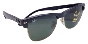 Ray-Ban Ray-Ban Sunglasses CLUBMASTER OVERSIZED RB 4175 877 Black & Gold Frame