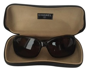 Chanel Chanel Tortoise Bouton Sunglasses with Enamel Circles and Case
