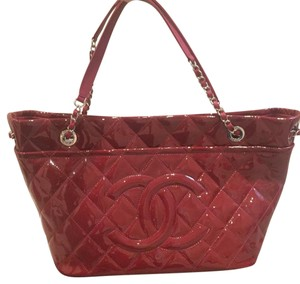 Chanel Tote in Cherry