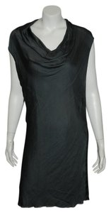 Helmut Lang Zipper Asymmetrical Dress