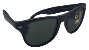 Ray-Ban Ray-Ban Sunglasses FOLDING WAYFARER RB 4105 601-S Black w/ G15 Green