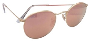 Ray-Ban Ray-Ban Sunglasses ROUND METAL RB 3447 112/Z2 Gold Frame w/Pink Mirror
