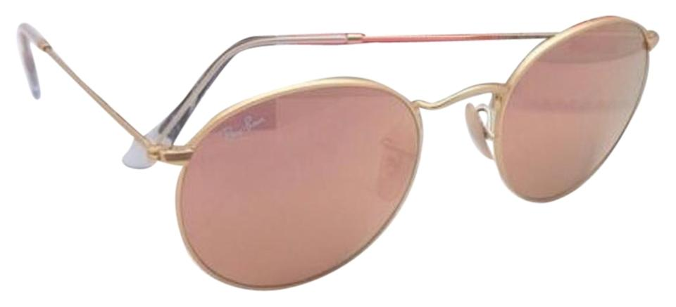 cc96c7fde07 ... coupon for ray ban ray ban sunglasses round metal rb 3447 112 z2 gold  frame 774f6