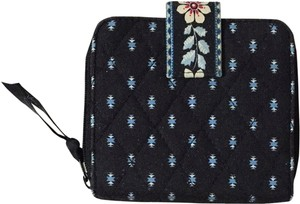 Vera Bradley NWOT Vera Bradley Mini Zip Wallet In Airplane Black