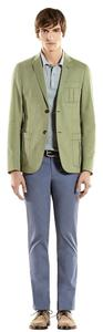 Gucci Brushed Cotton Dylan Green Blazer