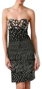 Diane von Furstenberg short dress Strapless Tribal Print on Tradesy