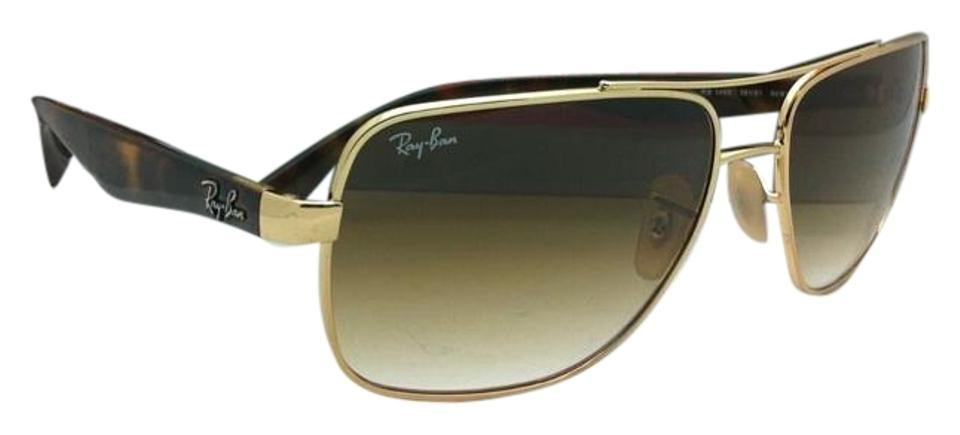 342863b8f4 Ray-Ban Rb 3483 001 51 60-16 Arista Gold W  Brown Gradient Lenses ...