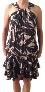 Diane von Furstenberg Print Sleeveless Silk Dvf Dress