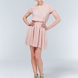 Aritzia short dress Blush on Tradesy