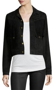 Current/Elliott Fringe Leather Leather Jacket