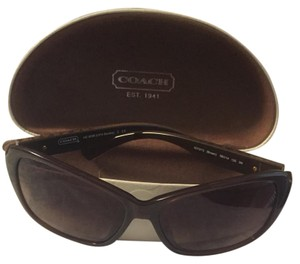 Coach Brown Sandra Sunglassess
