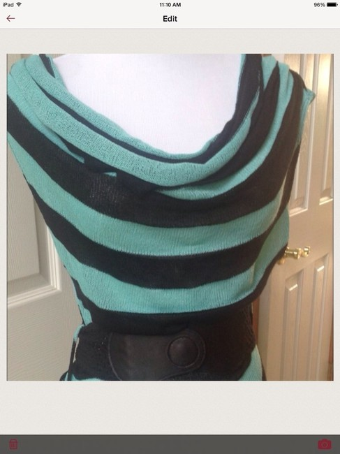 Blu Planet Top Turquoise