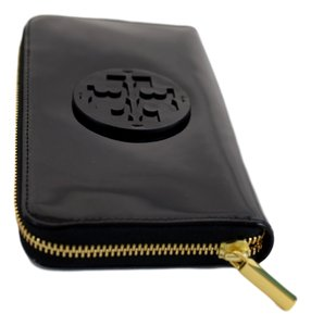 Tory Burch Tory Burch Patent Leather Black New With Tag Wallet