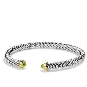 David Yurman David Yurman Peridot 5mm Bracelet