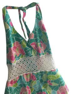Lilly Pulitzer Multi Halter Top