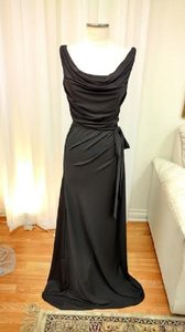 Mori Lee Black 691 Morilee Jersey Dress