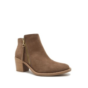 Qupid Boot Bootie Taupe Boots