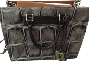 Dooney & Bourke Purse Crocodile Satchel