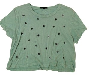 Truly Madly Deeply T Shirt green