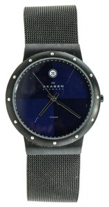 Skagen Denmark Skagen Black Mesh Watch