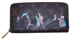 Louis Vuitton Monogram Illustre Zippy Wallet/Rose Pink