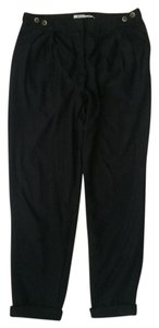 Kimchi Blue Work Urban Outfitters Polyester Trouser Pants Black