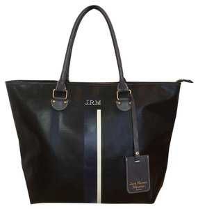 Jack Russell Malletier Travel Paris Tote in Black