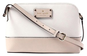 Kate Spade Zip Top Structured Two-tone Cross Body Bag