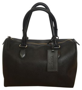 Escada Purse Satchel in Black