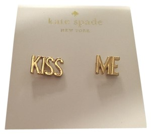 Kate Spade Kate Spade Kiss Me Stud Earrings
