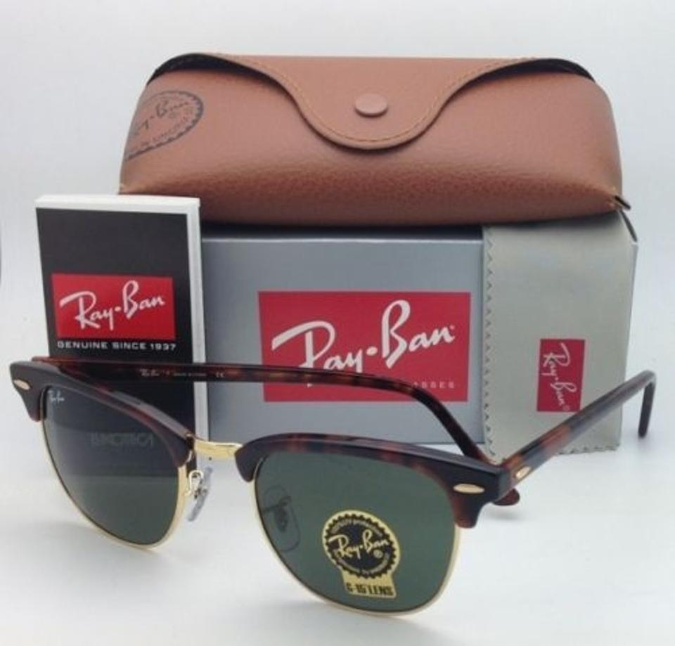 Ray-Ban Clubmaster Rb 3016 W0366 49-21 Tortoise/Gold Frames G-15 ...