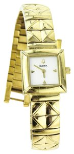 Bulova * Bulova Gold Tone Ladies Watch