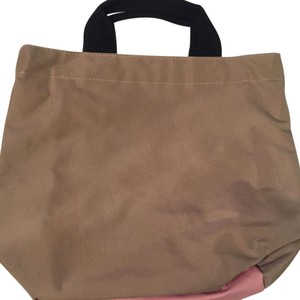 Herve Chapelier Tote in Champagne And Pink