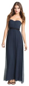 BCBGMAXAZRIA Gown Chiffon Sweetheart Dress
