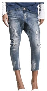 One teaspoon blue blonde goodies Relaxed Fit Jeans-Distressed