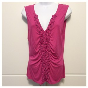 Cable & Gauge Top Fuschia