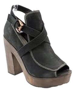 Joie Black Platforms