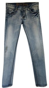 Puzzle Jeans Skinny Jeans-Light Wash