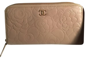 Chanel Camellia Long Wallet