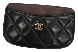 Chanel Chanel 14S Lambskin Leather Quilted CC Classic Credit Card Phone Case