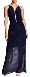 Navy Maxi Dress by Daniel Rainn